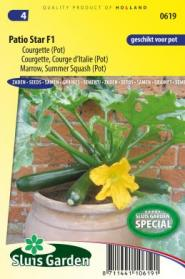 Courgette, Courge d'Italie Patio Star F1